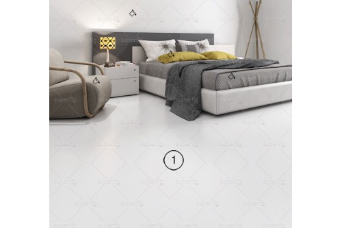 floor mockup bedroom