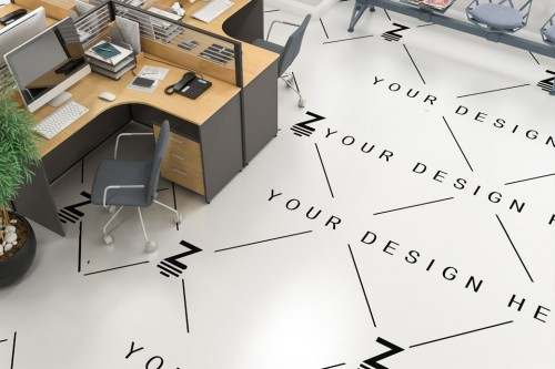 Commercial mockup floor